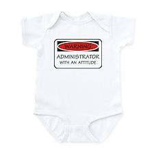 Administrator Attitude Infant Bodysuit