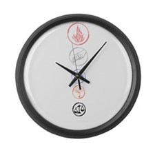 Divergent Large Wall Clock