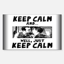 Keep Calm... Decal