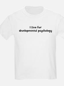 developmental psychology teac T-Shirt