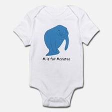 M is for Manatee Infant Bodysuit