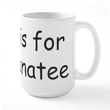 M is for Manatee Mug