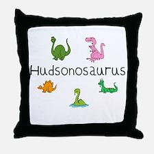 Hudsonosaurus Throw Pillow