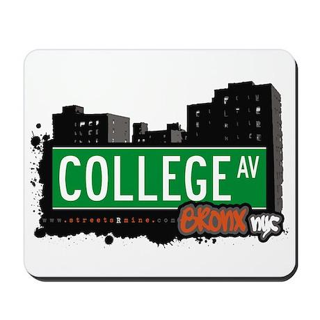 College Av, Bronx, NYC Mousepad