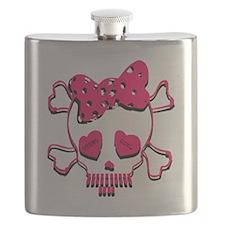 Steno girl Flask