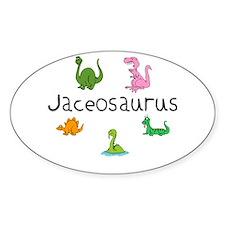 Jaceosaurus Oval Decal