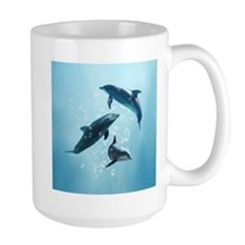 Dolphins in the Sea Mug