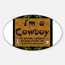 Im a Cowboy Decal