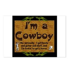 Im a Cowboy Postcards (Package of 8)