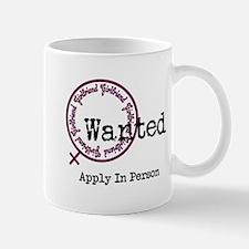 Girlfriend Wanted Mugs