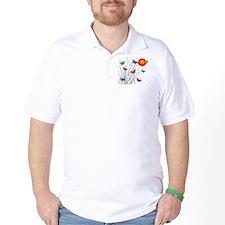 Butterflies at Sunset T-Shirt