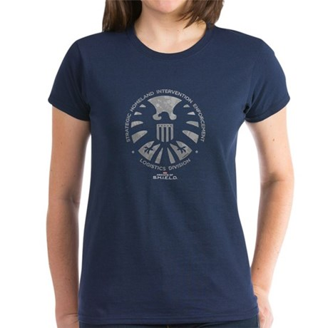 Marvel Agents of S.H.I.E.L.D. Women's Dark T-Shirt