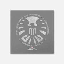 "Marvel Agents of S.H.I.E.L. Square Sticker 3"" x 3"""