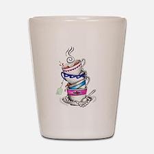 Tea for Four Shot Glass