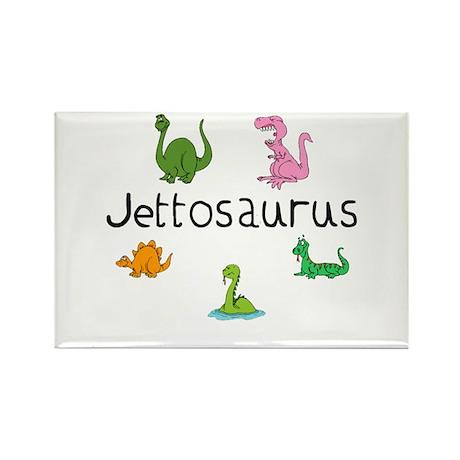 Jettosaurus Rectangle Magnet