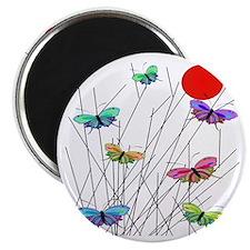 butterflies BEST SHower curtain Magnet