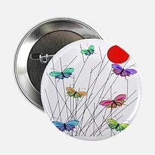 """butterflies BEST SHower curtain 2.25"""" Button"""