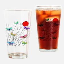 butterflies BEST SHower curtain Drinking Glass