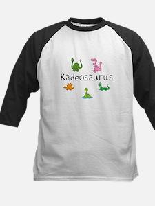 Kadeosaurus Kids Baseball Jersey