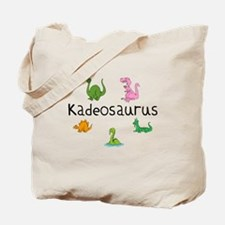 Kadeosaurus Tote Bag