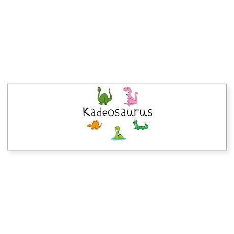 Kadeosaurus Bumper Sticker