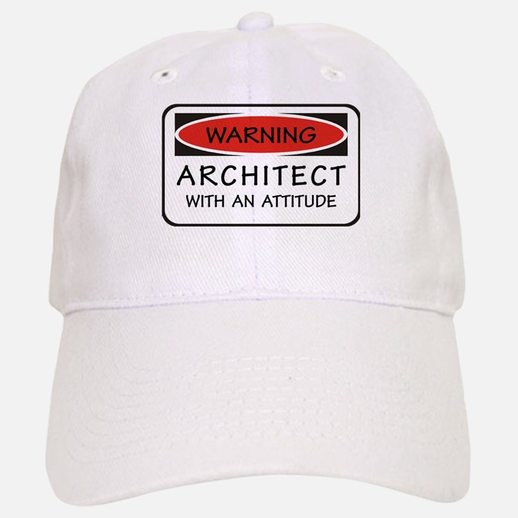 Architect Attitude Baseball Baseball Cap
