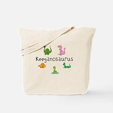 Keeganosaurus Tote Bag
