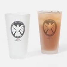 Metal Shield Drinking Glass