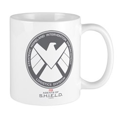 Metal Shield Mug