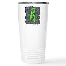 Lyme Disease Fight Defy Win Travel Mug