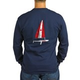 Canada and boats Long Sleeve T-shirts (Dark)