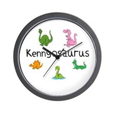Kennyosaurus Wall Clock
