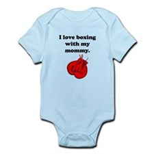 I Love Boxing With My Mommy Body Suit