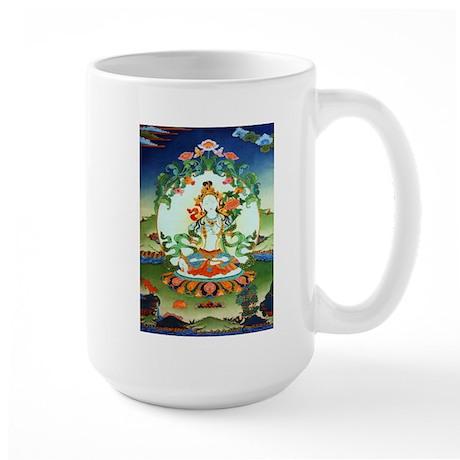 White Tara Large Mug