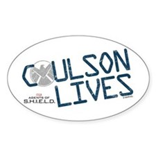Coulson Lives Decal
