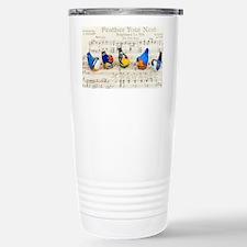 Bird Choir Thermos Mug