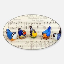 Bird Choir Decal
