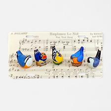Bird Choir Aluminum License Plate