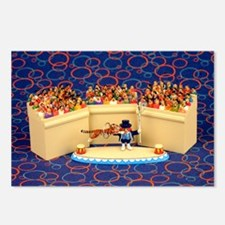 Circus Postcards (Package of 8)
