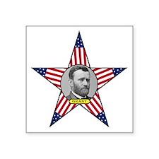 """Ulysses Grant Square Sticker 3"""" x 3"""""""