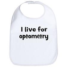 Live for optometry Bib