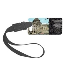 Luzerne County Courthouse Histor Luggage Tag