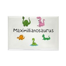 Maximillianosaurus Rectangle Magnet