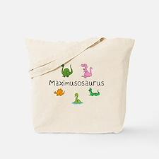 Maximusosaurus Tote Bag