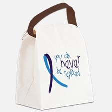 Suicide Awareness-Never Replaced Canvas Lunch Bag