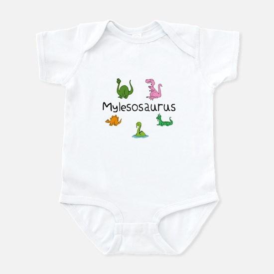 Mylesosaurus Infant Bodysuit