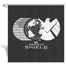 S.H.I.E.L.D. Shower Curtain