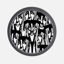 So Many Faces Wall Clock