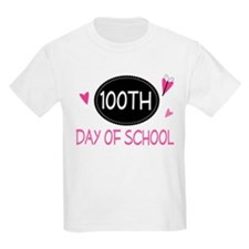 100th Day of School (pink) T-Shirt
