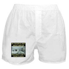 Watching It On TV In FLA Boxer Shorts